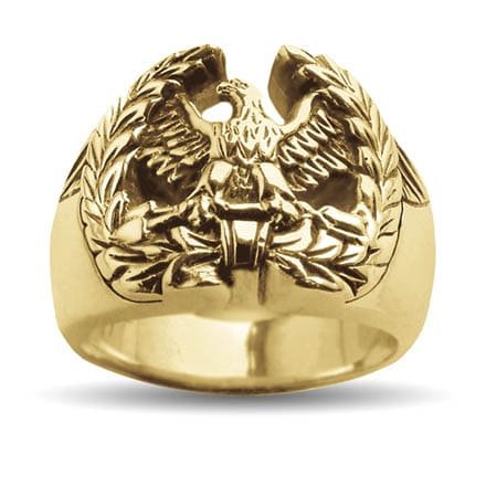 Gold Centurion Eagle Ring